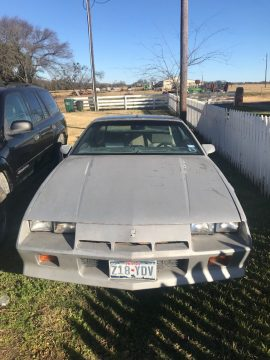 new engine 1984 Chevrolet Camaro F41 project for sale