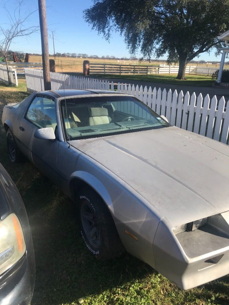 new engine 1984 Chevrolet Camaro F41 project