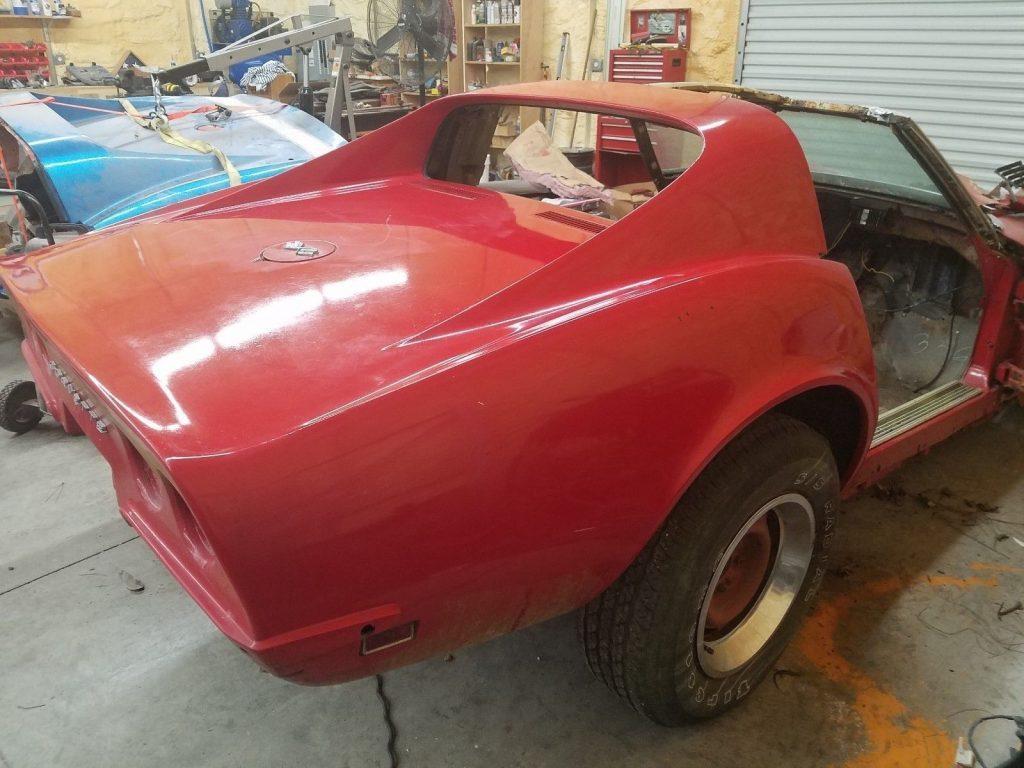 no interior 1968 Chevrolet Corvette project