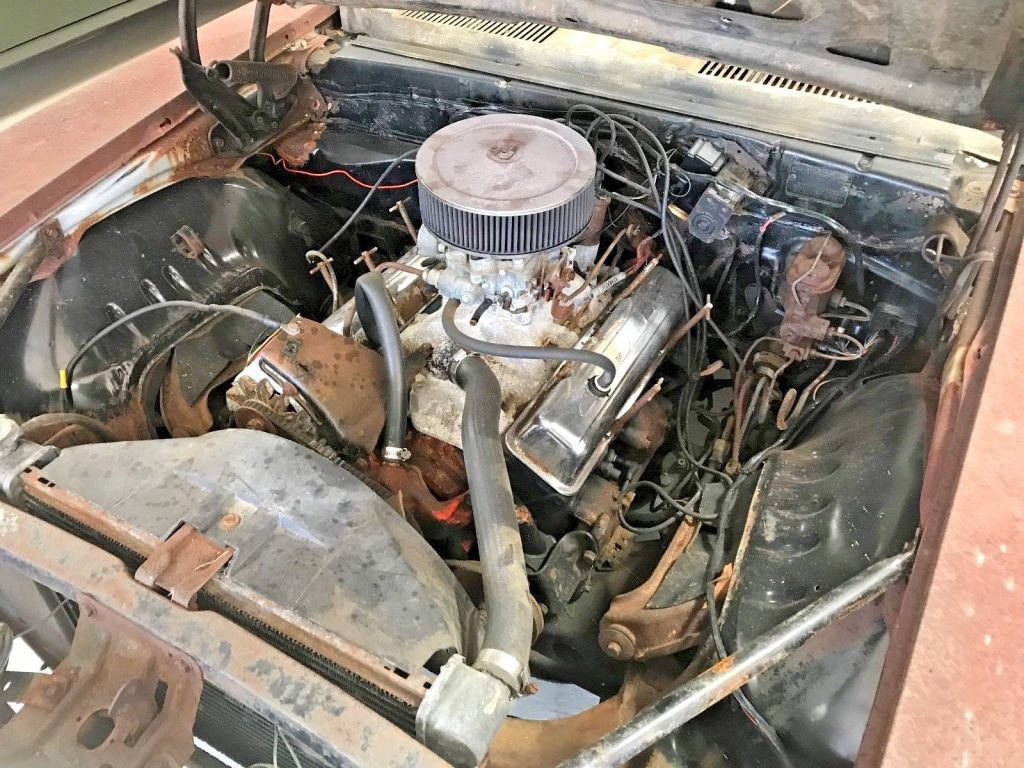 non running 1969 Chevrolet Camaro project