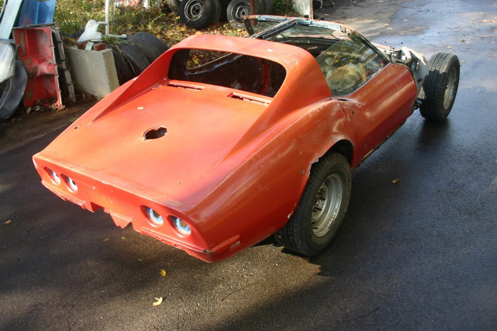 not on original chassis 1969 Chevrolet Corvette Stingray T Top Coupe project