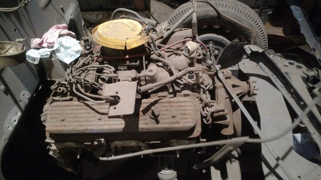 original drivetrain 1936 Chevrolet TUDOR project