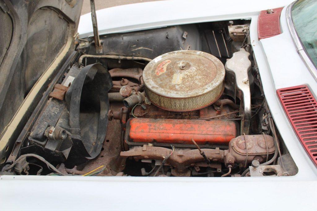 pretty complete 1967 Chevrolet Corvette Coupe Project
