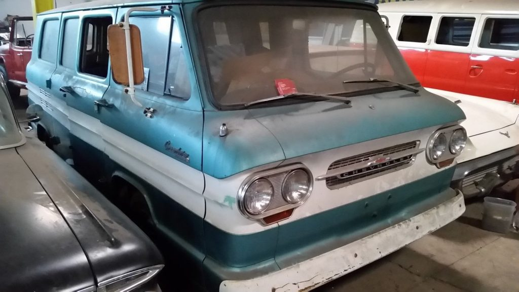 quite solid 1964 Chevrolet Corvair Project