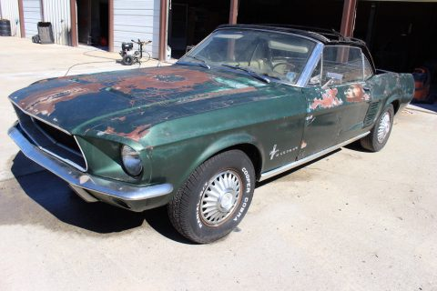 quite solid 1967 Ford Mustang project for sale