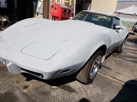 running 1975 Chevrolet Corvette project for sale