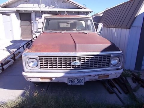 rust free 1971 Chevrolet C 10 PIckup project for sale