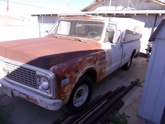 rust free 1971 Chevrolet C 10 PIckup project