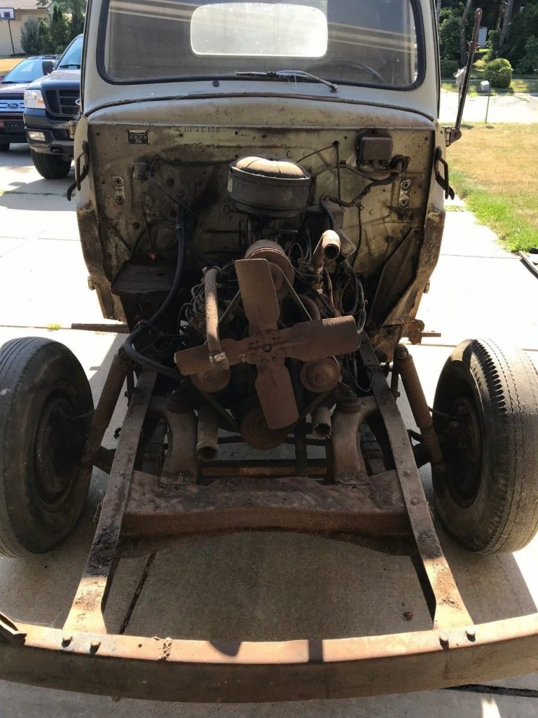 solid 1950 Ford F1 Pickup project