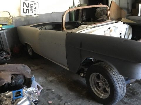 solid 1955 Chevrolet Bel Air Convertible project for sale