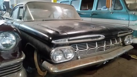 solid 1959 Chevrolet Biscayne Project for sale