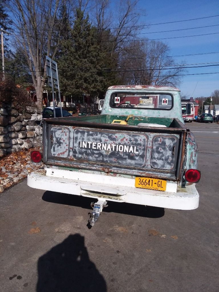 solid 1964 International Harvester project