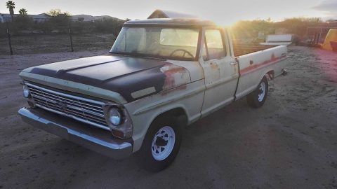 solid 1969 Ford F 100 project for sale