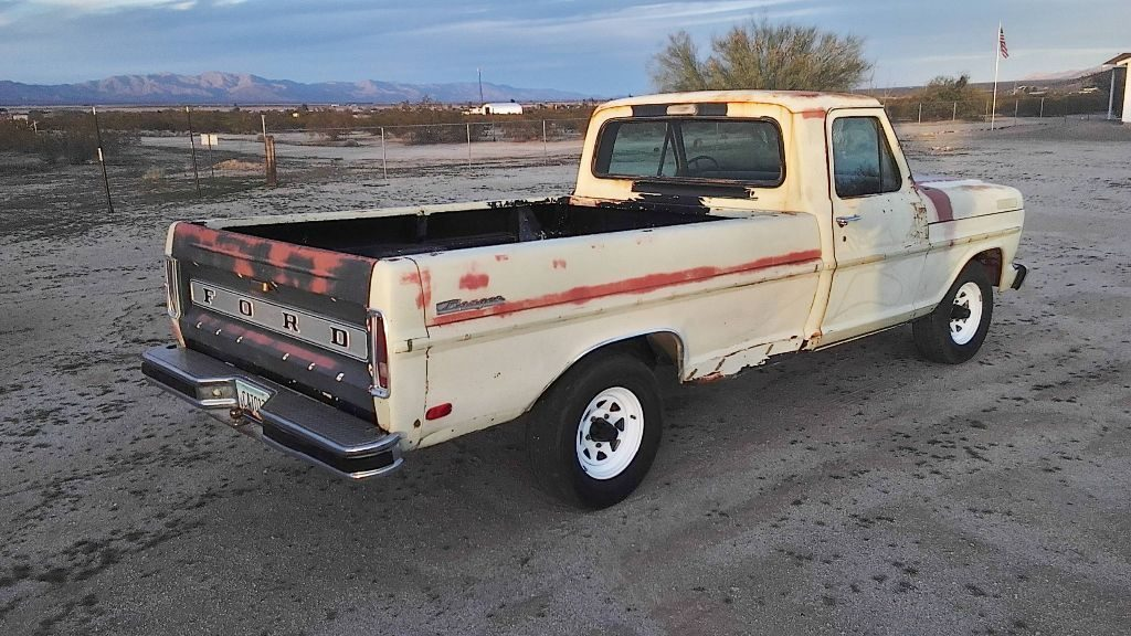 solid 1969 Ford F 100 project