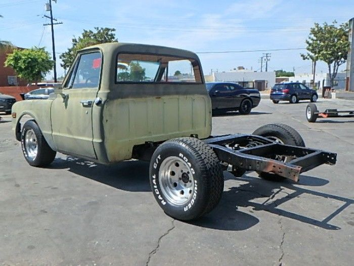 solid 1972 Chevrolet C 10 Project