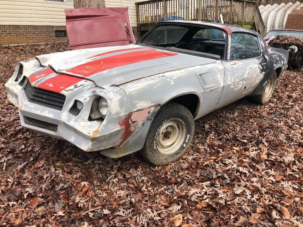 solid 1981 Chevrolet Camaro project