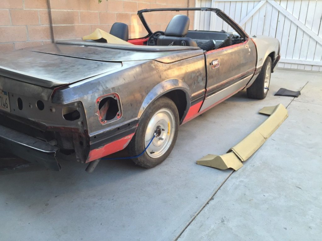 solid 1988 Ford Mustang ASC McLaren project