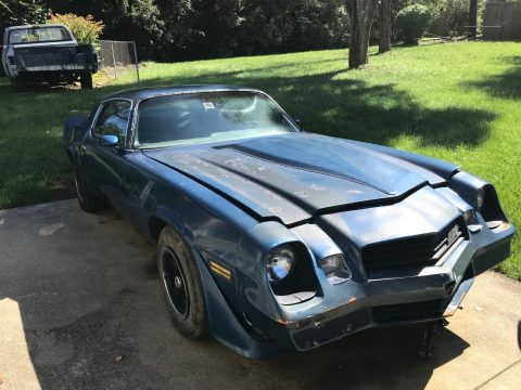 true Z28 1981 Chevrolet Camaro project for sale