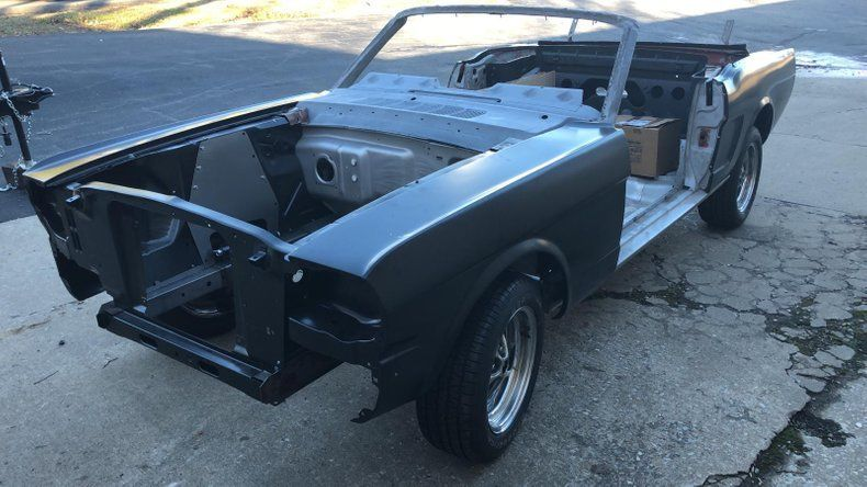 unfinished restoration 1965 Ford Mustang Convertible Project