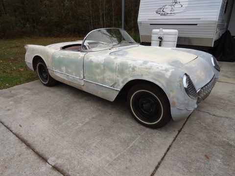 very complete 1954 Chevrolet Corvette project for sale