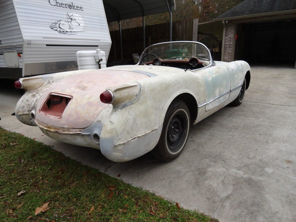 very complete 1954 Chevrolet Corvette project