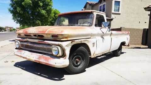 very solid 1964 Chevrolet C 10 project for sale