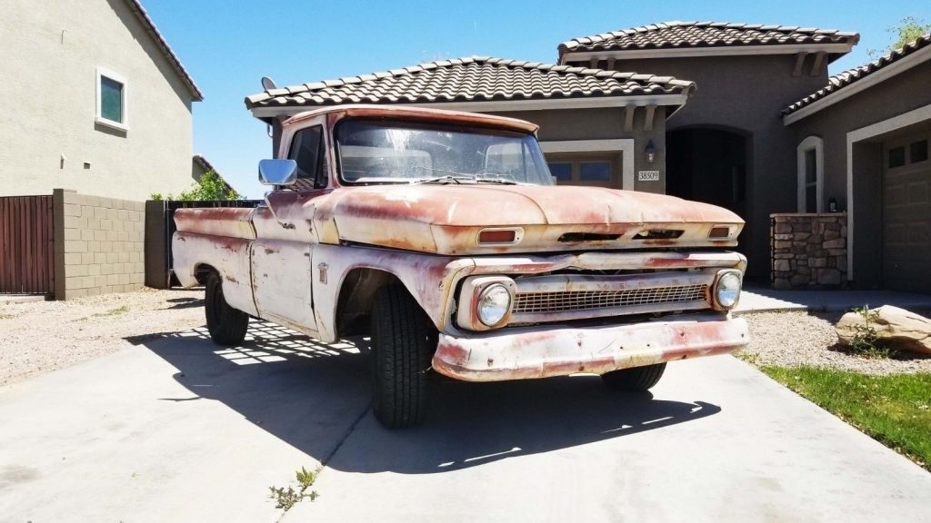 very solid 1964 Chevrolet C 10 project