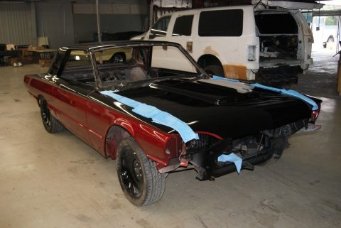 full custom 1964 Ford Thunderbird project for sale