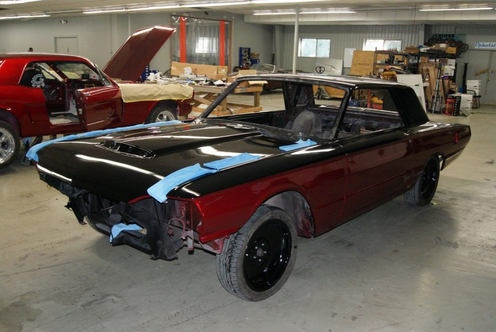 full custom 1964 Ford Thunderbird project
