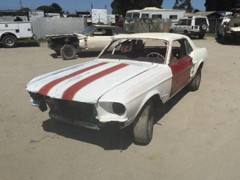 great resto candidate 1967 Ford Mustang Coupe project for sale