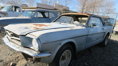 great starter 1965 Ford Mustang Project for sale