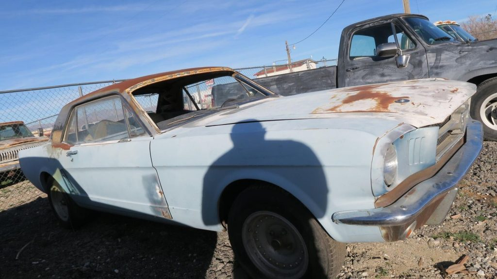 great starter 1965 Ford Mustang Project