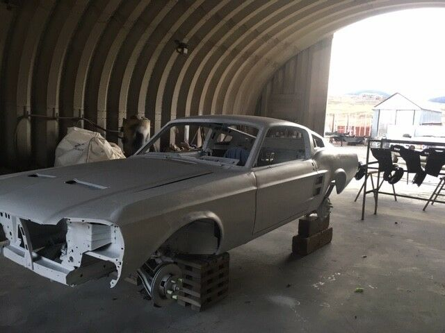 hard work done 1967 Ford Mustang project