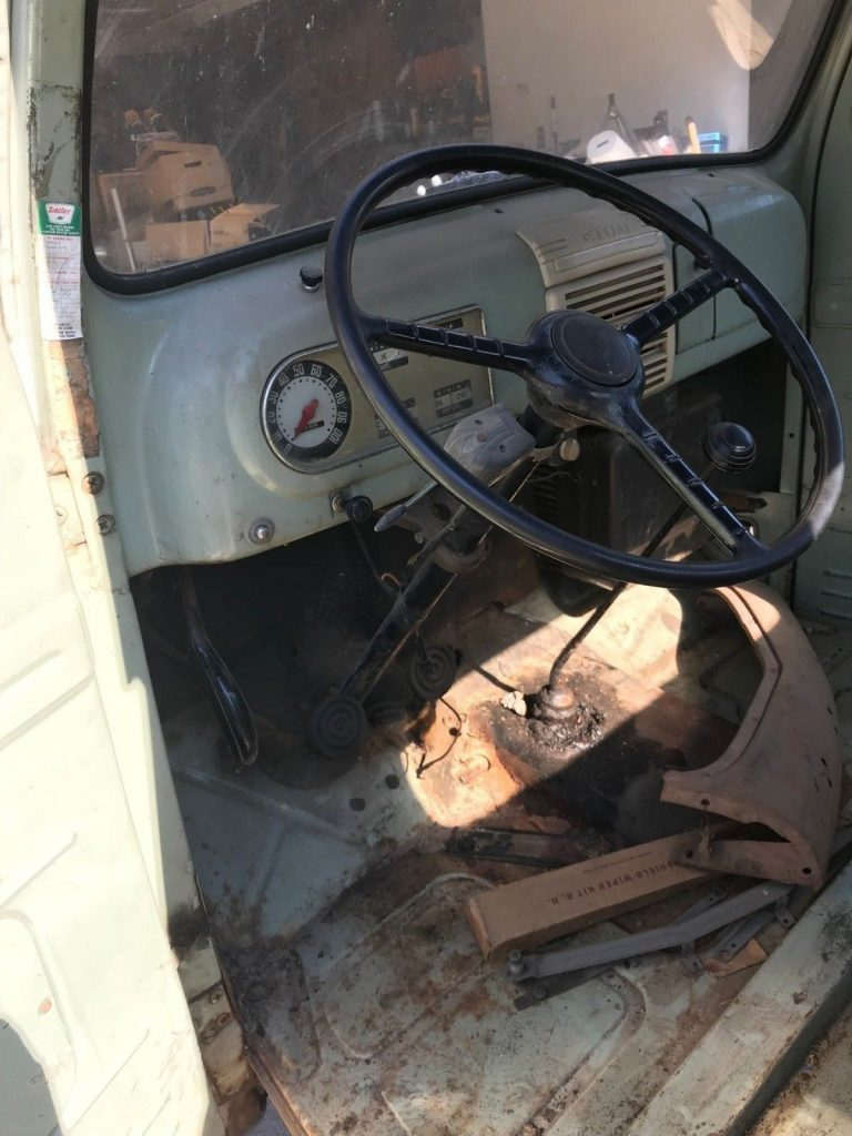 many extra parts 1950 Ford F1 Pickup project