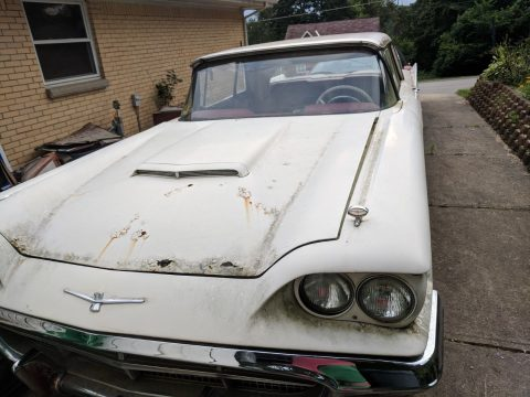 many parts 1960 Ford Thunderbird project for sale