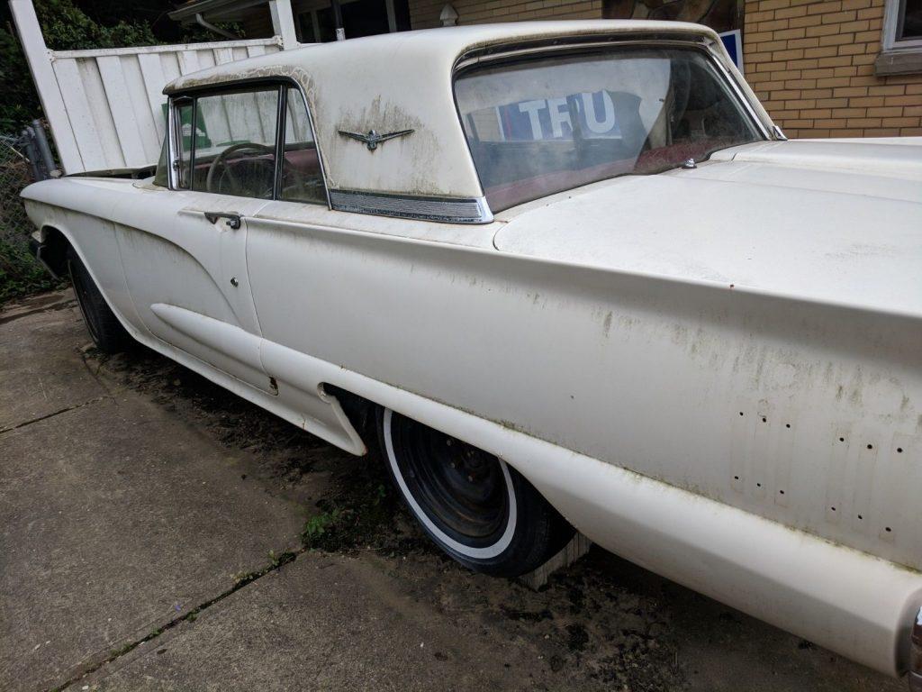 many parts 1960 Ford Thunderbird project