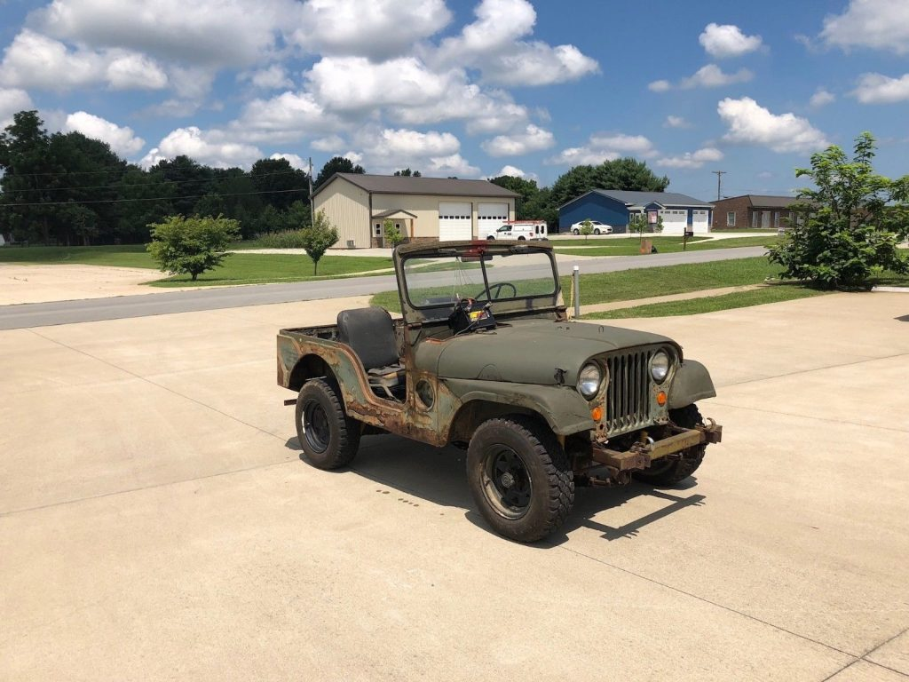 needs restoration 1952 Jeep M38A1 project
