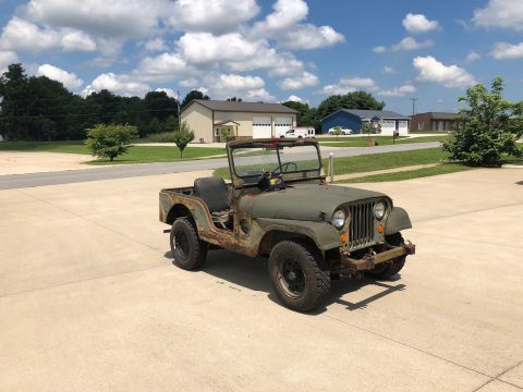 needs restoration 1952 Jeep M38A1 project for sale