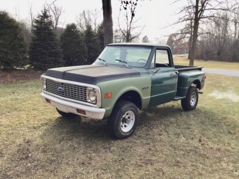 needs TLC 1972 Chevrolet C10 Shortbed Stepside project for sale
