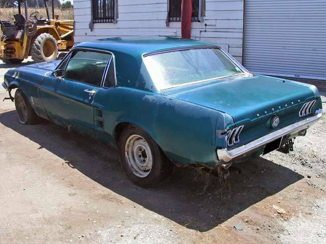 quite solid 1967 Ford Mustang project