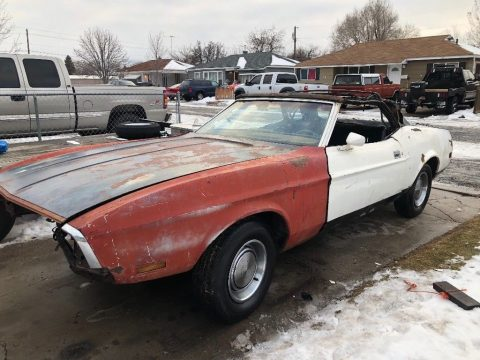 rare 1971 Ford Mustang Convertible project for sale