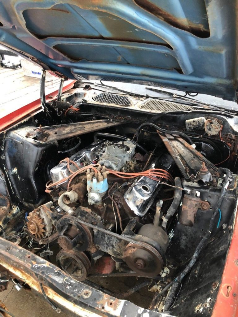 rare 1971 Ford Mustang Convertible project