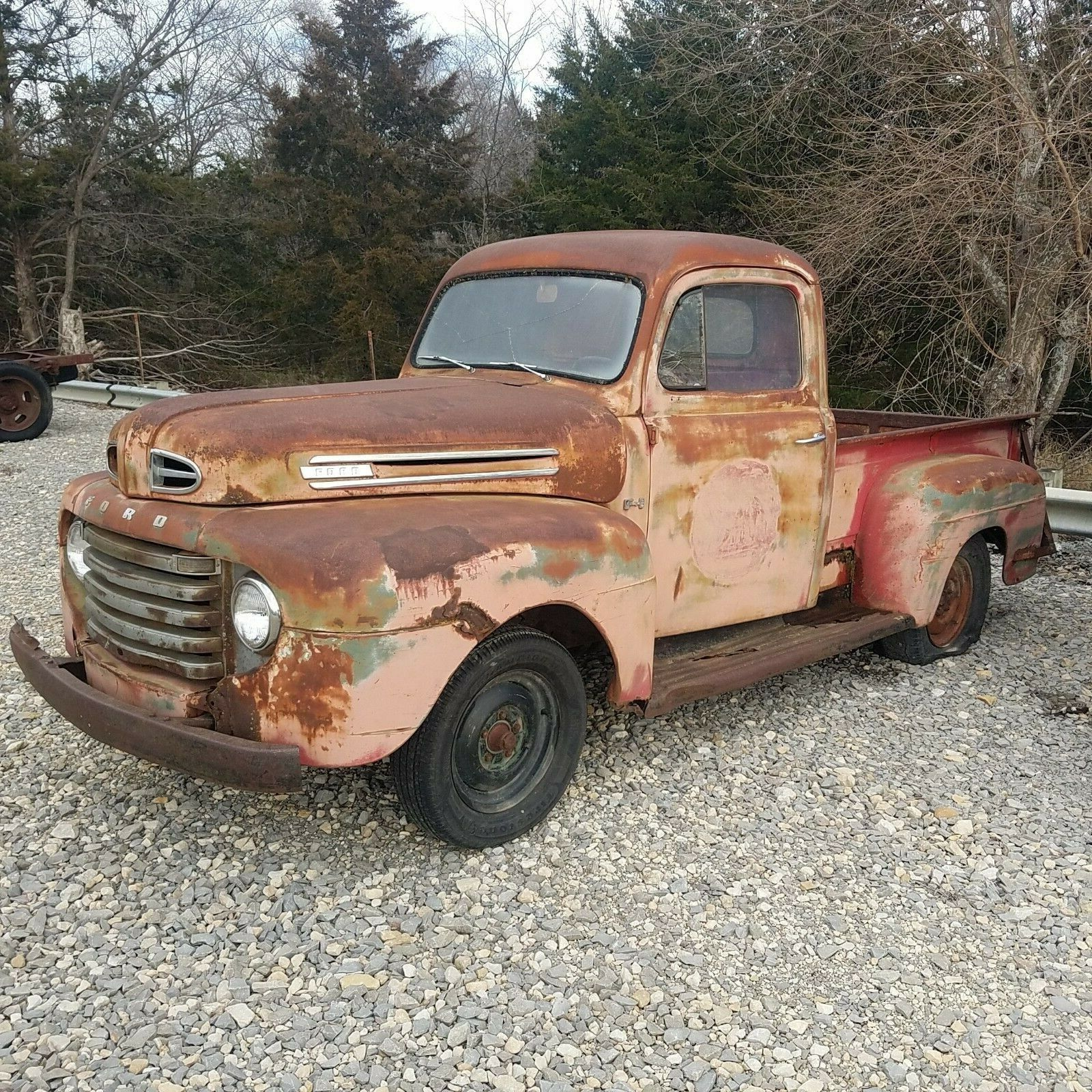 Solid 1949 Ford Pickups F1 Shop Truck Project For Sale