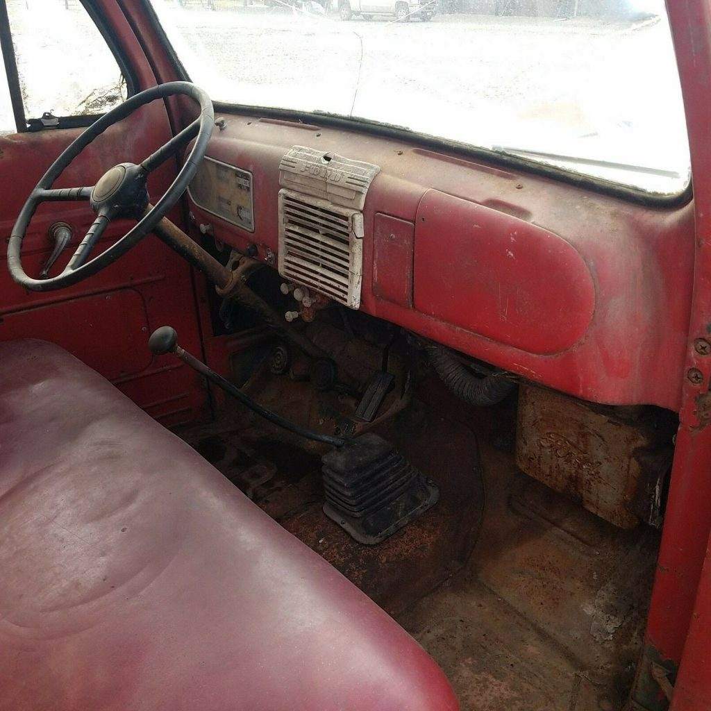 solid 1949 Ford Pickups F1 shop truck Project