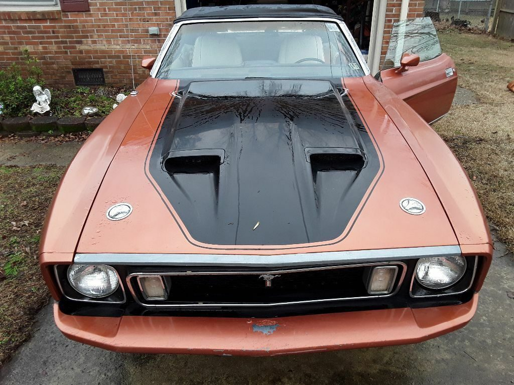 solid 1973 Ford Mustang Convertible project