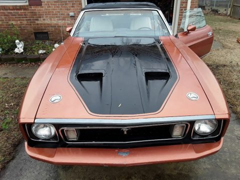 solid 1973 Ford Mustang Convertible project for sale