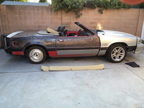 solid 1988 Ford Mustang ASC McLaren project for sale
