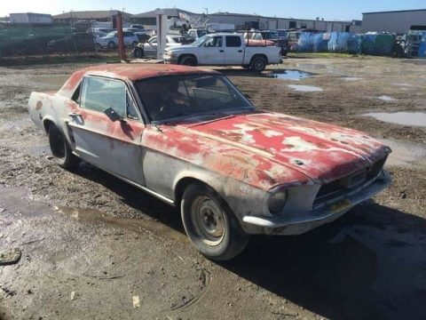 solid frame 1967 Ford Mustang project for sale