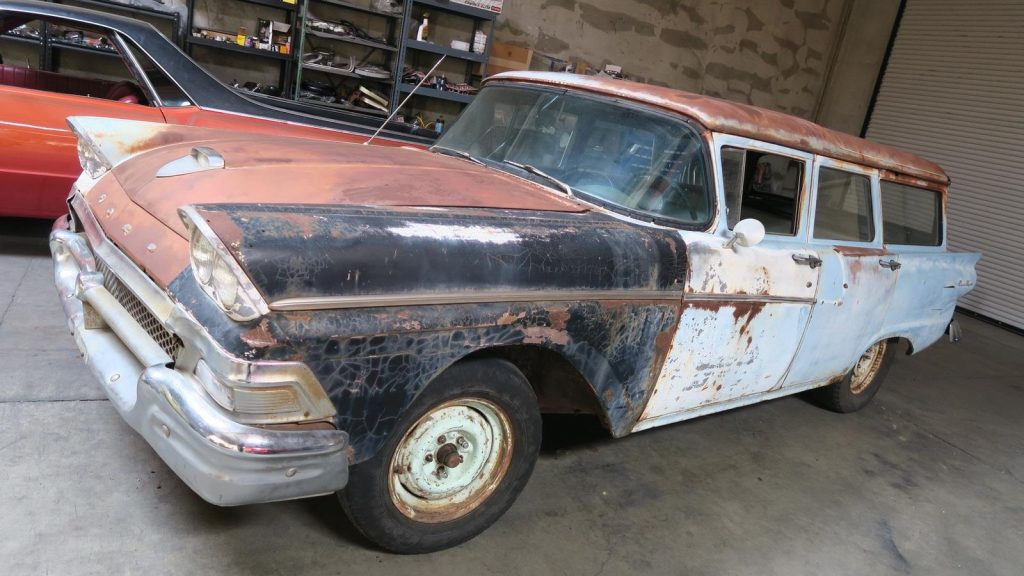 some extra parts 1958 Ford Ranch Wagon Project
