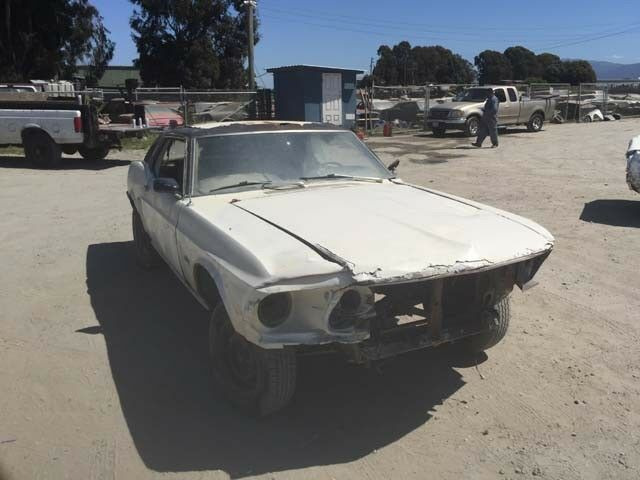 usual rust 1969 Ford Mustang project